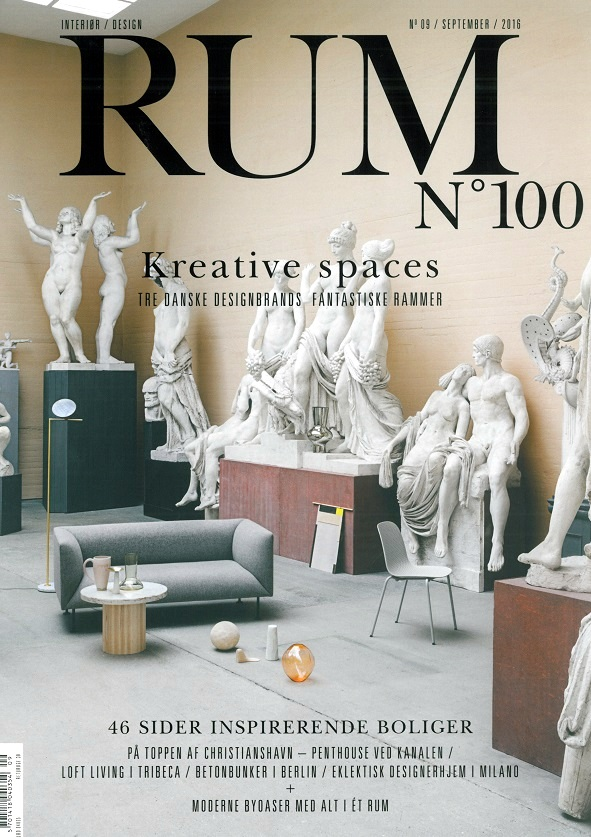 Interior Design Magazine RUM September Is100 Anniversary An Article About RUE VERTE Owners Michalas Apartment And Tendencies In Its